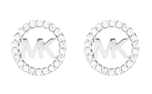 Michael Kors Silver-Tone Brass Earring