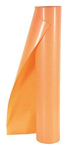 ergocolor Seidenpapier durchgefärbt naßfest, 75cm, 300m, ca. 6,3kg, 28g/m2, Orange