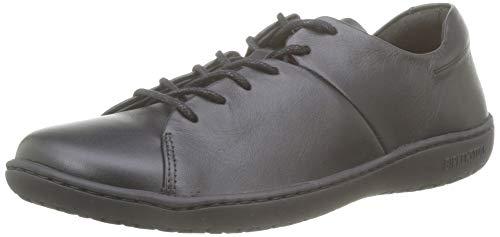 BIRKENSTOCK Damen Albany Naturleder Sneaker, Schwarz (Noir Noir), 40 EU