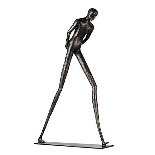 XZJJZ Nordic Metallo in Ferro battuto Artigianato Semplice Moderno Ornamento Creativo Ornamento Geometrico Ufficio Ornamenti Astratti