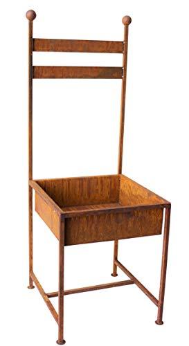 Blümelhuber Stuhl zum Bepflanzen Rost Gartendeko Edelrost