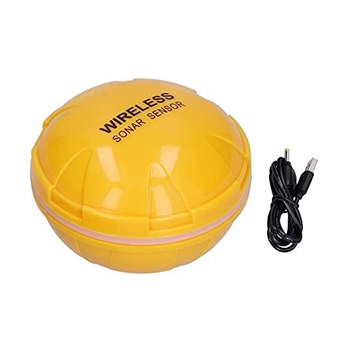 RUIRUIY Fish Finder Bobber, Sensor de sonda inalámbrico Inteligente Teléfono móvil Submarino Bluetooth Detector de Peces de Alta definición Visual para la Pesca