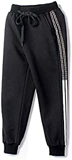 WHPSTZ Children's Pants Spring and Autumn Korean Version of The Boy's Sports Trousers in The Big Boy Cotton Casual Pants Children's Trousers (Color : Black, Size : 130cm)