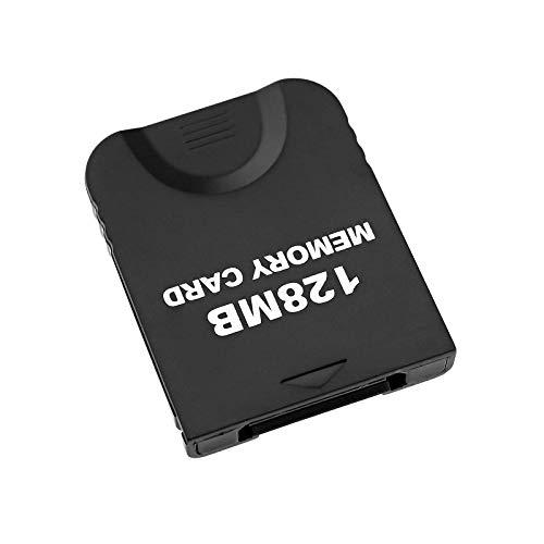 YINETTECH Speicherkarte 128 MB für Nintendo Wii und Gamecube NGC Gc Console 2043 Block, Weiß