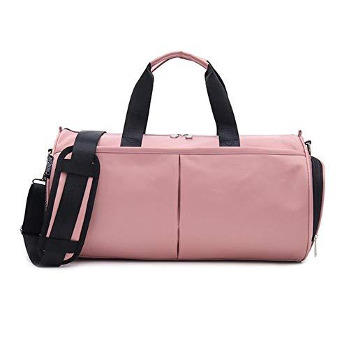 Dames Gymtas Yoga Tassen Dames Fitness Sport Zwarte tas Rugzakken Draagbare reistas met schoenenvak, roze II