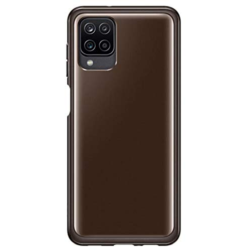 Samsung Galaxy A12 Soft Clear Cover - Official Samsung Case - Black