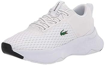 Lacoste Women s Court-Drive Sneaker WHITE/BLACK 7.5