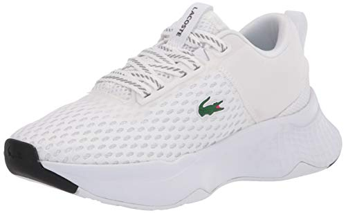 Lacoste Women's Court-Drive Sneaker, White/Black, 7.5