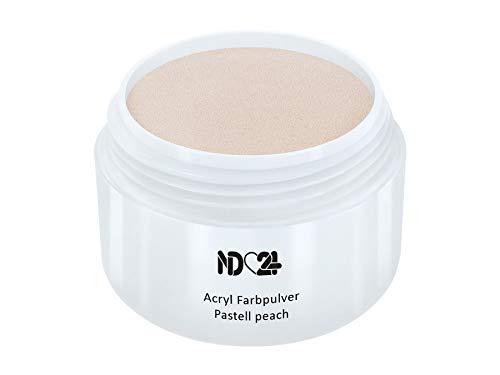 Acryl Farbpulver Pastell peach ORANGE - nd24 BESTSELLER - Feinstes FARB Acryl-Puder Acryl-Pulver...