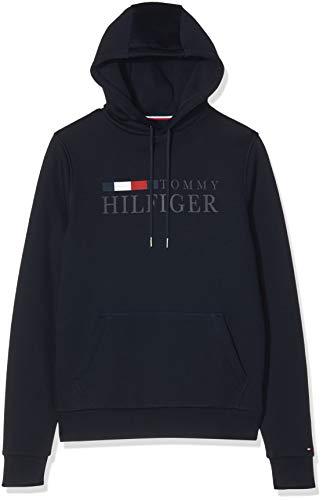 Tommy Hilfiger Herren Basic Hilfiger Hoody Sweatshirt, Blau (Blue Dw5), X-Small