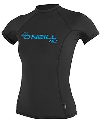 O'Neill Women's Basic Skins UPF 50+ Short Sleeve Rash Guard