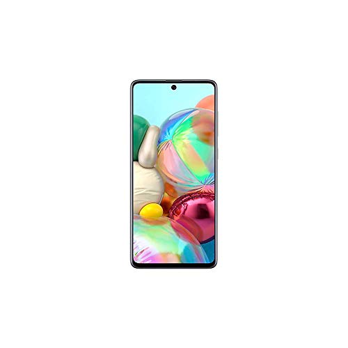 Celular Samsung Galaxy A71 128Gb Câmera Quádrupla 64Mp + 12Mp + 5Mp + 5Mp - Prata