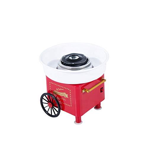 Zuckerwattemaschine für Zuhause Zuckerwattegerät Zuckerwatte Maschine Retro Cotton Candy Machine Zuckerwatte Maker Zuckerwatte-Automat Cottoncandy Maker Kindergeburtstag Süßigkeiten