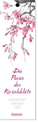 Die Poesie der Kirschblüte - Lesezeichen-Kalender 2021