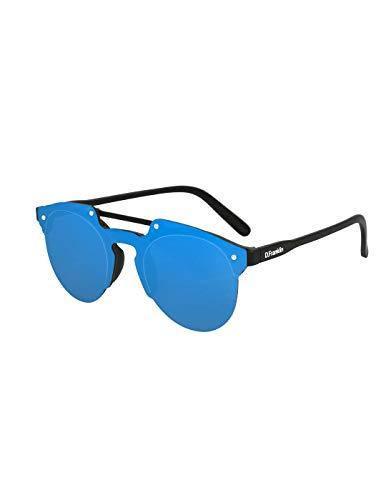 Gafas DE Sol Unisex D.FRANKLIN Azul One Size Negro