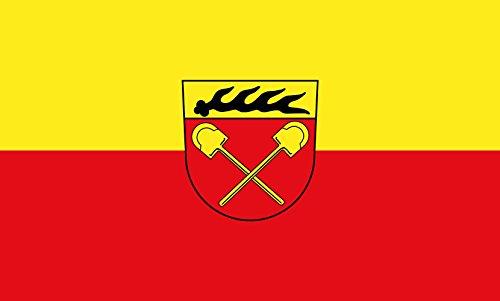 Unbekannt magFlags Tisch-Fahne/Tisch-Flagge: Schorndorf 15x25cm inkl. Tisch-Ständer