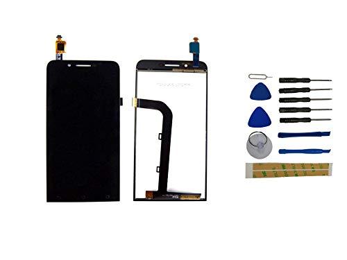 Yixi Pantalla para ASUS ZenFone Go Dual SIM ZC500TG Z00VD 5.0 Pantall LCD Pantalla Táctil Negro Repuesto de Pantalla Recambio (sin Marco)