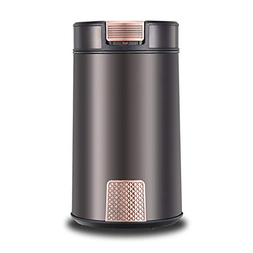 Electric Coffee Grinder Grinding Machine Electric Coffee Grinder Household Grinder Coarse And Fine Italian Grinder Electric Burr Grinders (Color : Photo colour, Size : 9.6×9.6x17cm)