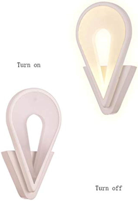 MDD Licht, LED Modern Minimalistisch Kreativ Romantisch Acryl Gang Eingang Nachtwand Gesund und umweltfreundlich Schützen Sie die Augen,Warmes Licht