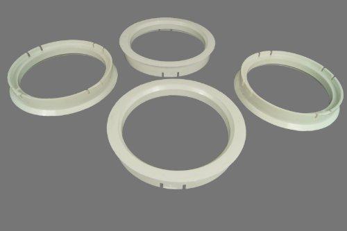 4 Zentrierringe 70,1 mm - 60,1 mm