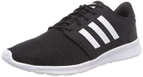 adidas Damen QT Racer Fitnessschuhe, Schwarz (Negbas/Ftwbla/Carbon 000), 41 1/3 EU