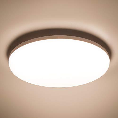 LED Plafoniera 36W Ultra magro UFO Pannello LED Rotondo Bianco Caldo 3000K 3240LM Lampada da Soffitto per Soggiorno Camera da letto Bagno Cucina Corridoio e Balcone Ø23cm Non-Dimmerabile