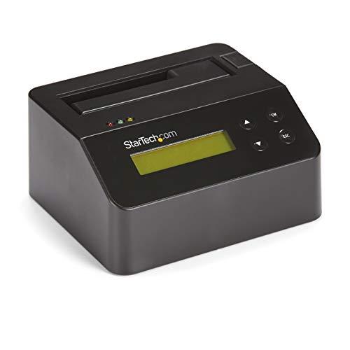 StarTech.com USB 3.0 Standalone Eraser Dock, Dockingstation für 2,5″ und 3,5″ SATA SSD/HDD Laufwerke, einfaches Löschen von Festplatten, zuverlässiger Datenschutz