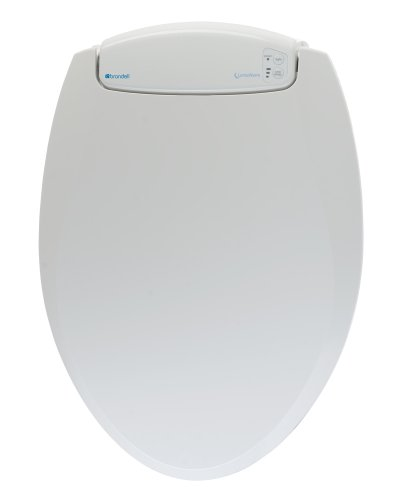 Brondell LumaWarm Heated Nightlight Elongated Toilet Seat