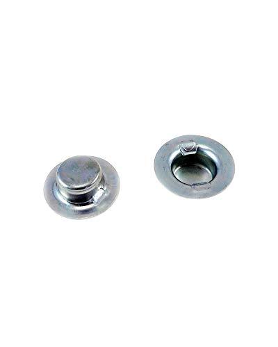 "5/8"" Push On Cap Nut - 5/8-inch Axle Cap Nut- Push On Cap Nuts - Axle Caps 5/8"" - Wheel Retainers (8) -  Imported"