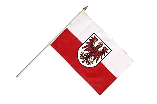 Flaggenfritze® Stockflagge Italien Südtirol - 30 x 45 cm
