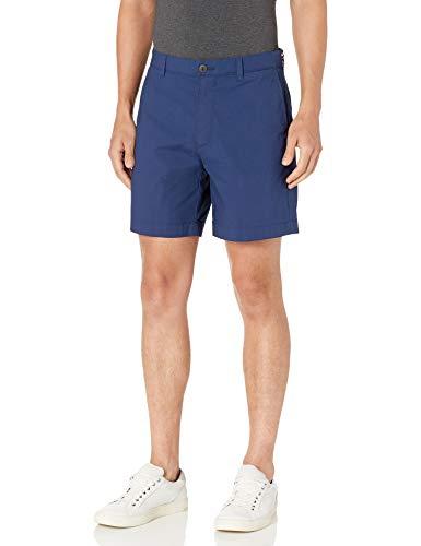 Amazon Essentials Men's Standard Regular-Fit Lightweight Stretch 7' Short, Navy, 34