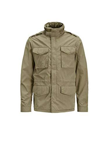 JACK & JONES Jprtactical Field Jacket Parka, Verde (Olive Night), M Uomo