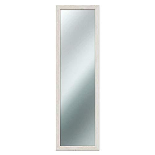Lupia Shabby Chic - Espejo de Pared, Vidrio, color Beige, 40 x 125 cm