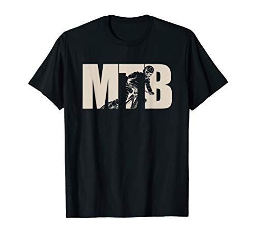 Freeride Geschenkidee | MTB Fahrrad | Downhill Mountainbike T-Shirt