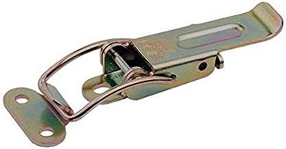 Gedotec Krattenspansluiting, metalen hefboomsluiting, afsluitbaar met tegenstuk - Table Catch | Kistenslot om te schroeve...