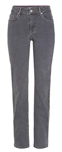 MAC Jeans Damen Melanie Straight Jeans, Grau (Winter Dark Grey D926), W38/L32