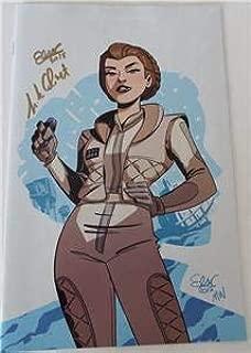 SDCC 2018 EXCLUSIVE Star Wars FORCES DESTINY SIGNED Elsa Charretier Pierrick Colinet