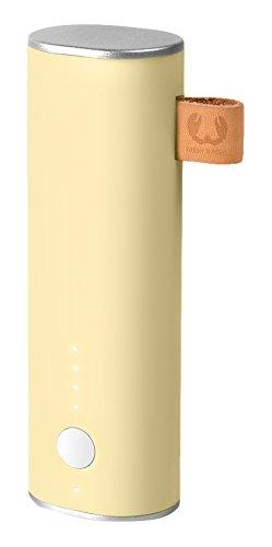 Fresh 'n Rebel 3.000 mAh - powerbank (incl. micro-USB-kabel en handleiding - met meervoudige beveiligingsfuncties - Ingang/Uitgang: 5 V/1,5 A) geel