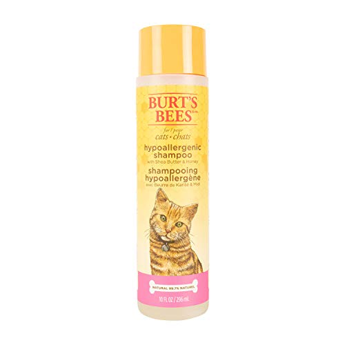 Burt's Bees for Cats Hypoallergenic Shampoo with Shea Butter and Honey