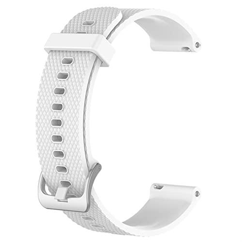 LXFFCOK Correa de silicona para SUUNTO 3 Fitness resistente al agua, color puro, correa de reloj premium con embalaje (color de la correa: 5, tamaño: tamaño grande)