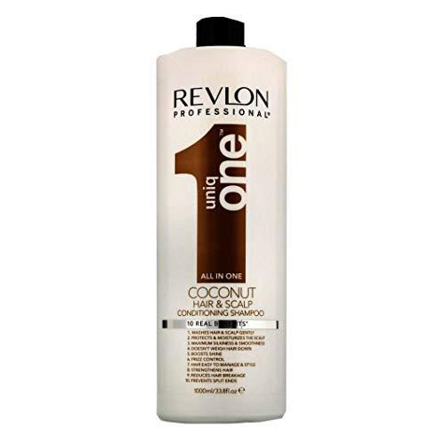 Revlon Professional Uniq One Coconut Conditioning Hair and Scalp Shampoo 1000ml