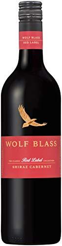 Wolf Blass Red Label Shiraz Cabernet Wine 750ml (case of 6), 750 ml (Pack Of 6)