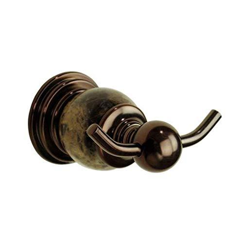 OH Cuarto de Baño Gancho Gancho de la Toalla de Baño Puerta de Entrada Del Re Del Oro Hook Hook Baño Toalla Individual Ganchos de la Capa de Jade Gancho para la Ropa Rack regalo de
