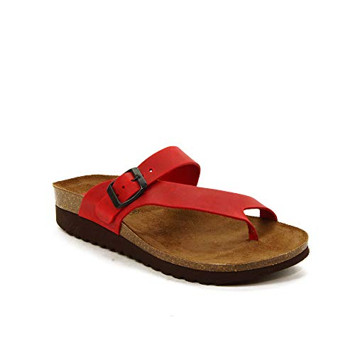 INTER-BIOS - Sandalen für: Damen, Rot - rot - Größe: 39 EU