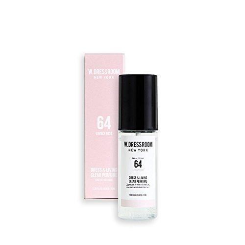 W.DRESSROOM Dress & Living Clear Perfume fragrance 70ml (#No.64 Lovely Rose)/ダブルドレスルーム ド...
