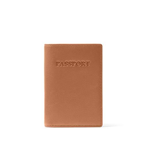 Leatherology Cognac Standard Passport Cover