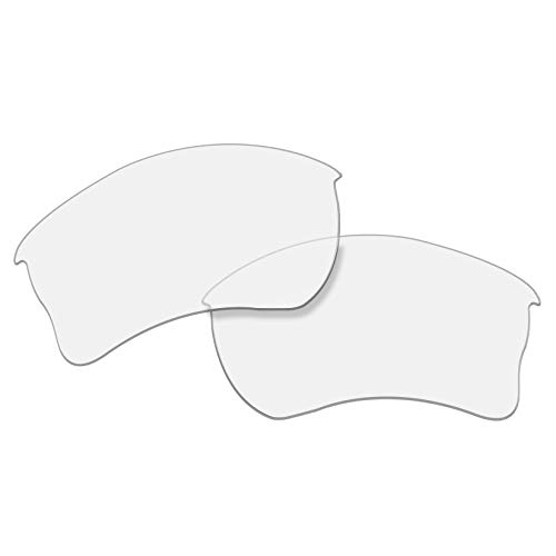 OOWLIT Replacement Lenses Compatible with Oakley Quarter Jacket Sunglass HD Clear Non-polarized