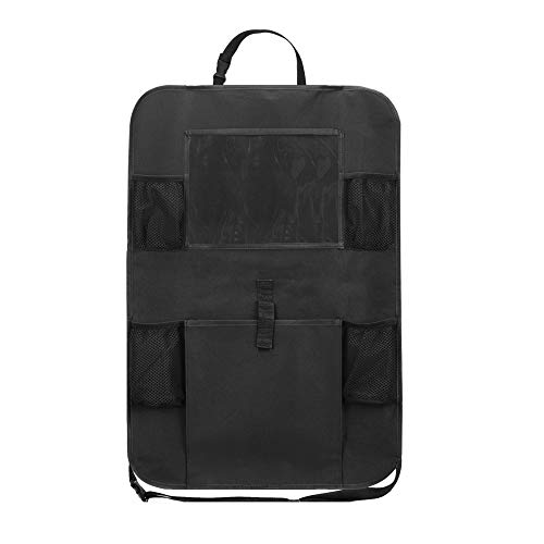 Maluokasa Organizador para asiento trasero de coche, bolsa de almacenamiento con pantalla táctil, resistente al agua