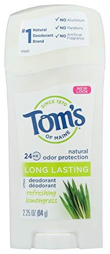 Tom's of Maine, Natural Care Long-Lasting Deodorant, Lemongrass, 2.25 oz by Tom's of Maine