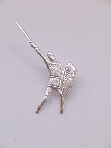 Alberto Da Giussano - Spilla da giacca in Argento 925 - Lega - Legnano - stemma - simbolo - logo - pins